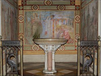 Il Fonte battesimale della nostra chiesa